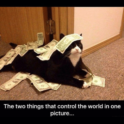 Control, World, and One: The two things that control the world in one  picture...
