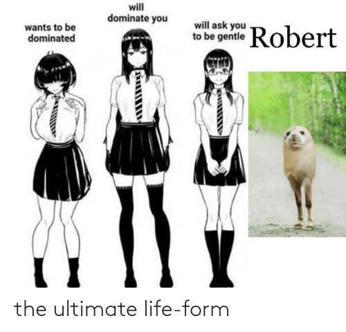 Form: the ultimate life-form