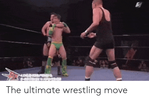 Wrestling: The ultimate wrestling move