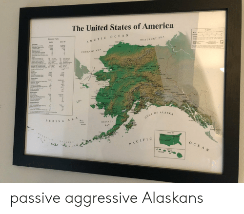 """passive: The United States of America  Legend  Selected Facts  BEAUFORT SEA  ARCTIC OCEAN  tpiaba  lewer 49  Alasks  Ugiagv  graphy  s40  LASSAL  L18244  11,17%  54.729  266  Perin  CHUKCHI SEA  s ighr  dnAI b  51  spare mil  100 at  u  ami  d  yly ege)  w  314  P 379 02  226 24 L  1%  si ag ide per ye  ryea  s pr  ww he per y  waded doet wege p  ange d pr you  30 A  319 u N KR  1 300  11  G  Kotasbue  g  y m  beld egle  000  6,000  1993  1,300  21.000  $24 061  of p  k  +Deeson  dngraphi  TI2  30x035 307  dy p st  Nome  99.3  Nortos  Seusd  500e  per 100 al  pea 64 yous ald c  12  108 30  4555  96.7  24/13  Leme  15  309  434  arirect  Uary  Whitehppe  ad  1532  4027440  spe 100000 ppation  md cng  4  a wihg  7000  244  363  4""""  14  GULF OF ALASKA  BERING SEA  BRISTOL  BAY  Prince  Lower 48  AIestias  Cald  Now York  San Francico  Islands  OCEAN  PACIFIC  Hawa  Honolul passive aggressive Alaskans"""