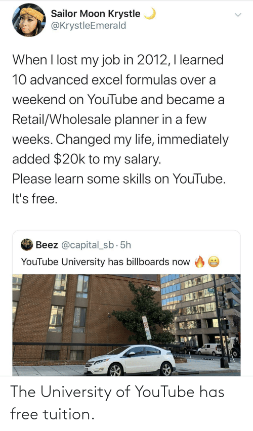youtube.com: The University of YouTube has free tuition.