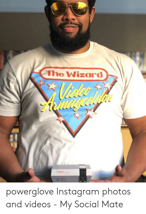 7c91b182c Instagram, Videos, and Wizard: The Wizard powerglove Instagram photos and  videos - My