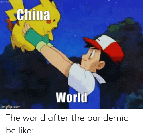 pandemic: The world after the pandemic be like: