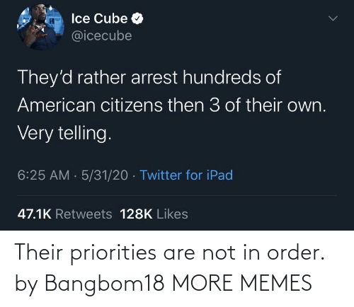 order: Their priorities are not in order. by Bangbom18 MORE MEMES