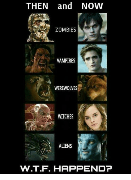 Vampirism: THEN and NOW  ZOMBIES  VAMPIRES  WEREWOLVES  WITCHES  ALIENS  W.T.F. HAPPEND?