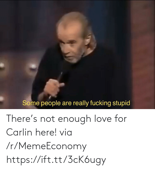 enough: There's not enough love for Carlin here! via /r/MemeEconomy https://ift.tt/3cK6ugy