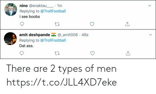 men: There are 2 types of men https://t.co/JLL4XD7eke