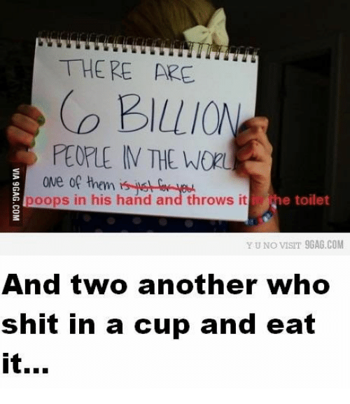 A Cup Wors And Toilets THERE ARE THE WOR ONe Of Them Poops