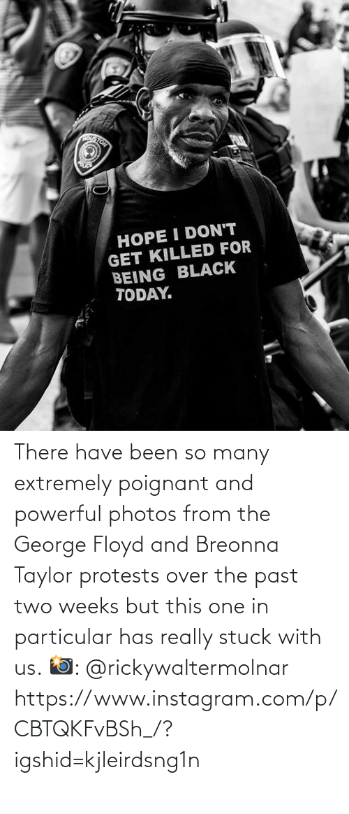 Been: There have been so many extremely poignant and powerful photos from the George Floyd and Breonna Taylor protests over the past two weeks but this one in particular has really stuck with us.  📸: @rickywaltermolnar  https://www.instagram.com/p/CBTQKFvBSh_/?igshid=kjleirdsng1n