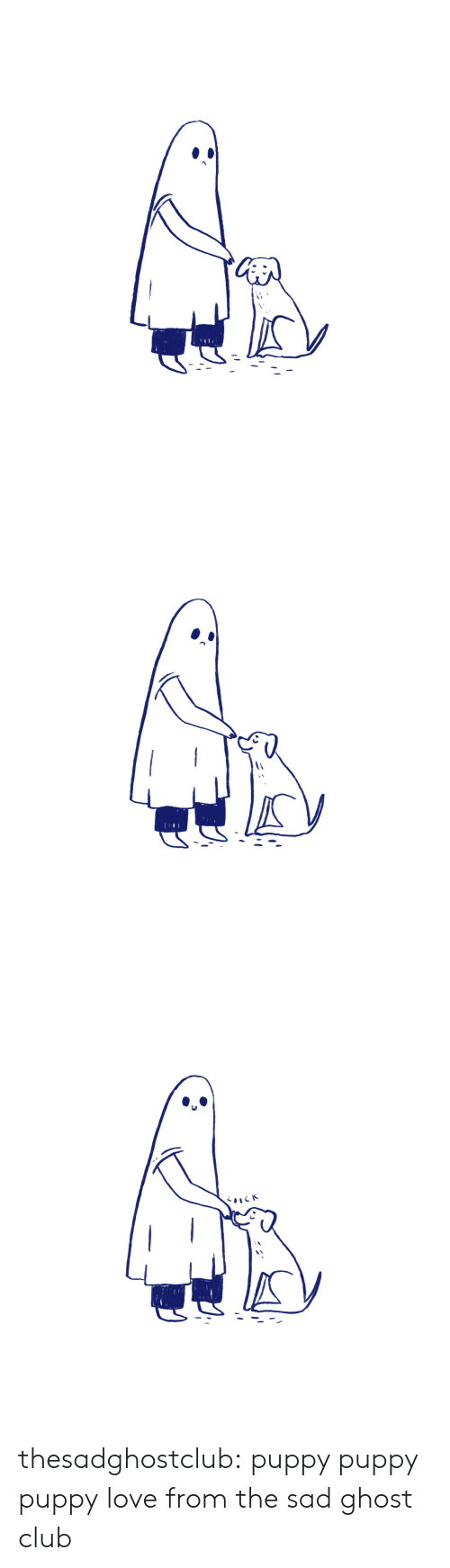Club, Love, and Target: thesadghostclub:  puppy puppy puppy love from the sad ghost club
