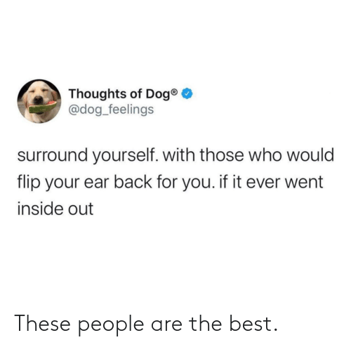 People Are: These people are the best.
