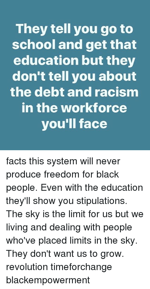 racism in the education system One of the problems with the american education system is that it has yet it is clear that there are serious problems with the modern american educational system.