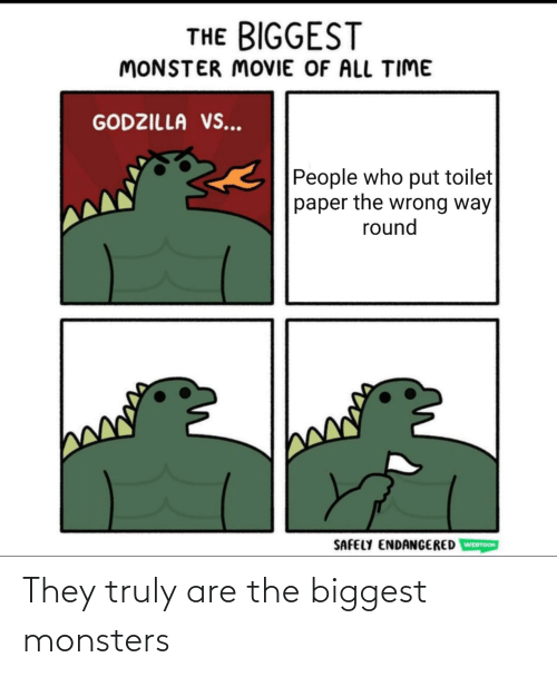 monsters: They truly are the biggest monsters
