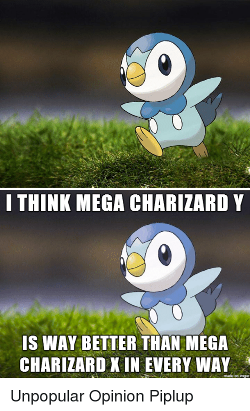 pokemon imgur and mega think mega charizard y is way better than mega