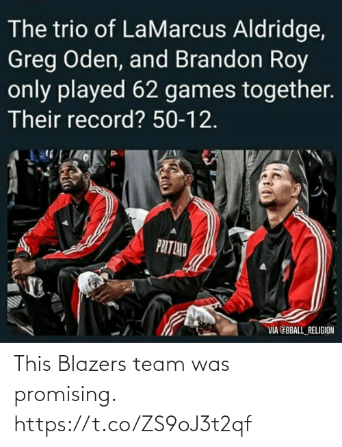 team: This Blazers team was promising. https://t.co/ZS9oJ3t2qf