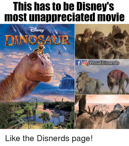 Disns: This has to be Disney's  most unappreciated movie  DIsN  TO/ProudDisnerds Like the Disnerds page!