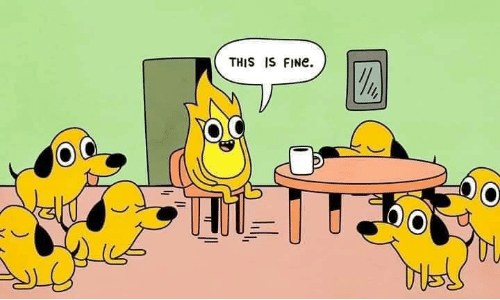 Fine, This, and This Is Fine: THIS IS FINE