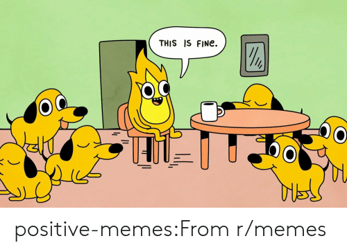 Memes, Tumblr, and Blog: THIS IS FINe.  o C positive-memes:From r/memes