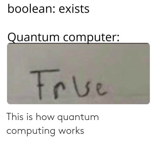 works: This is how quantum computing works