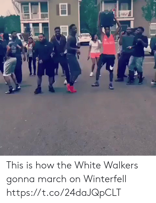 walkers: This is how the White Walkers gonna march on Winterfell https://t.co/24daJQpCLT