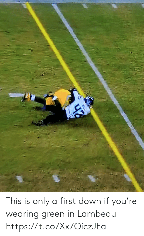 first: This is only a first down if you're wearing green in Lambeau https://t.co/Xx7OiczJEa