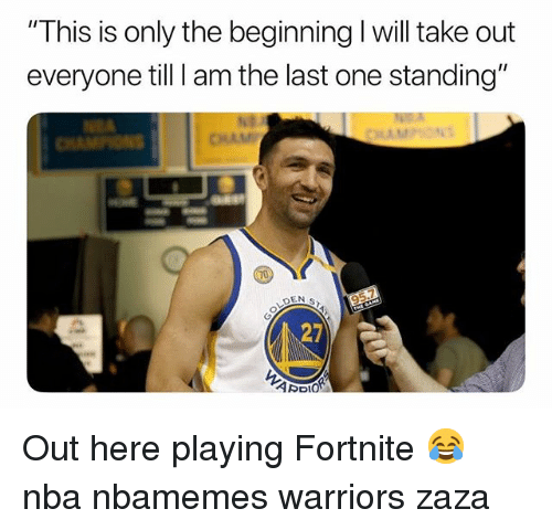 Warriors Come Out To Play Meme: 25+ Best Memes About Zaza