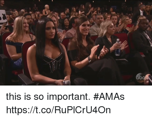 Girl Memes, Amas, and This: this is so important. #AMAs  https://t.co/RuPlCrU4On