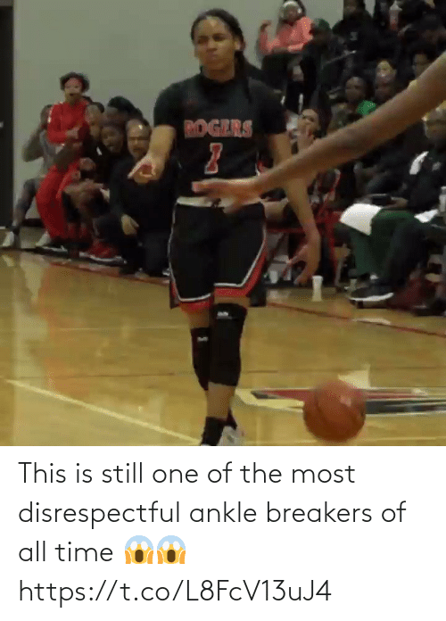 All Time: This is still one of the most disrespectful ankle breakers of all time 😱😱 https://t.co/L8FcV13uJ4