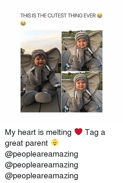 Memes, Heart, and 🤖: THIS IS THE CUTEST THING EVER My heart is melting ❤️ Tag a great parent 👶 @peopleareamazing @peopleareamazing @peopleareamazing