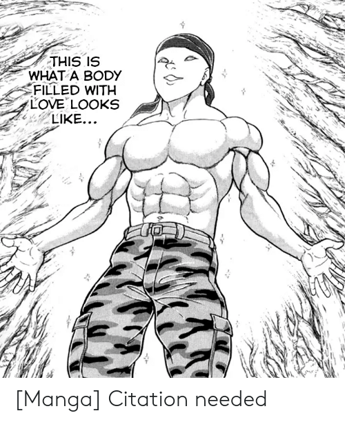 Manga: THIS IS  WHAT A BODY  FILLED WITH  LOVE LOOKS  LIKE... [Manga] Citation needed