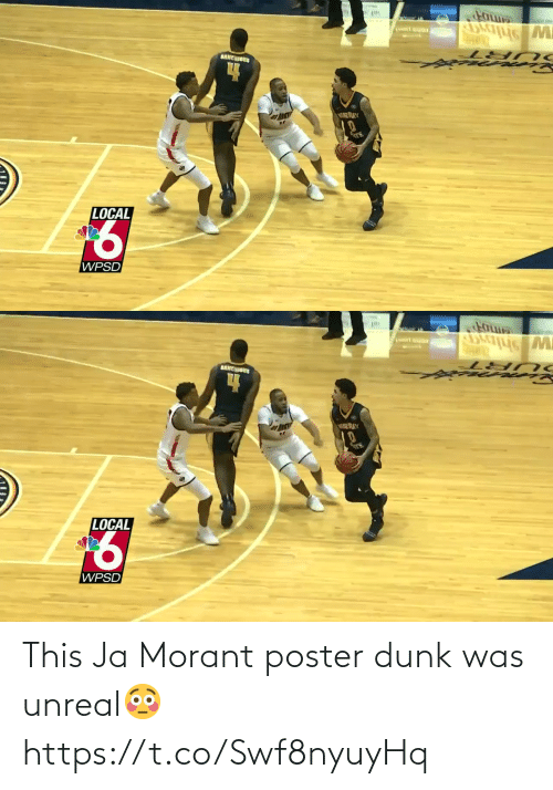 Was: This Ja Morant poster dunk was unreal😳 https://t.co/Swf8nyuyHq