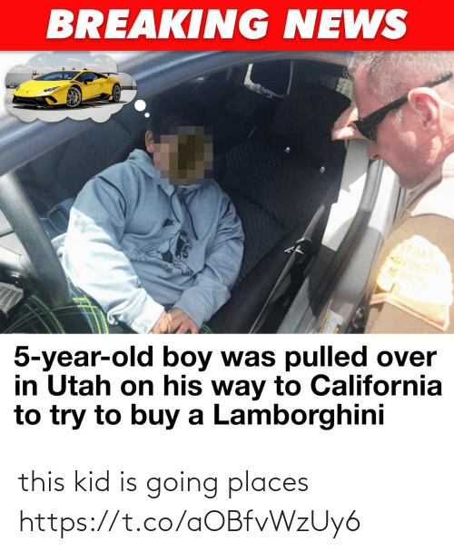 Going Places: this kid is going places https://t.co/aOBfvWzUy6