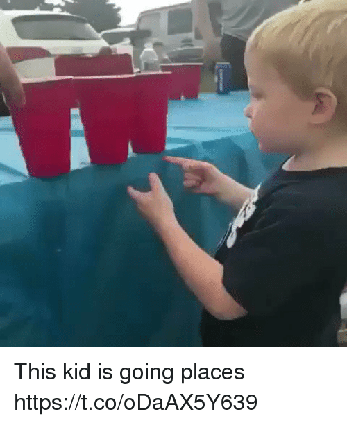 Going Places: This kid is going places https://t.co/oDaAX5Y639