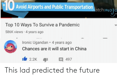 lad: This lad predicted the future