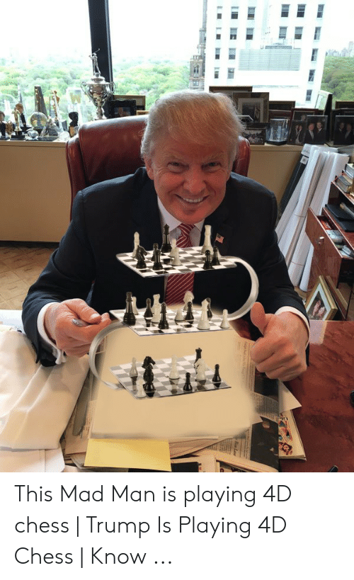 Ruska vojska: Amerika krijumčari sirijsku naftu u druge zemlje This-mad-man-is-playing-4d-chess-trump-is-53518795