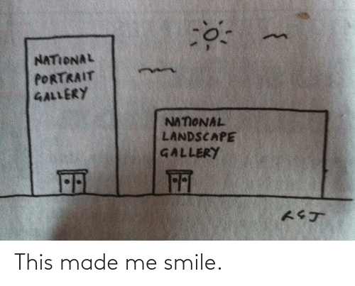 Smile: This made me smile.
