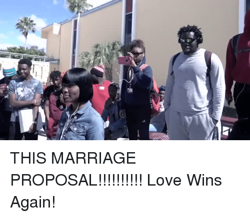 marriage proposal: THIS MARRIAGE PROPOSAL!!!!!!!!!! Love Wins Again!