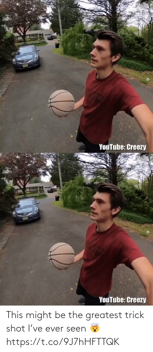 greatest: This might be the greatest trick shot I've ever seen 🤯 https://t.co/9J7hHFTTQK