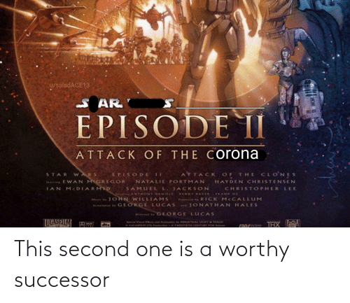 Successor: This second one is a worthy successor