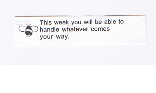 Will, You, and Handle: This week you will be able to  handle whatever comes  your way