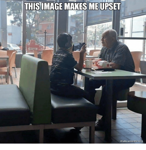 Memes, 🤖, and Org: THISIMAGE MAKES ME UPSET  makeameme.org