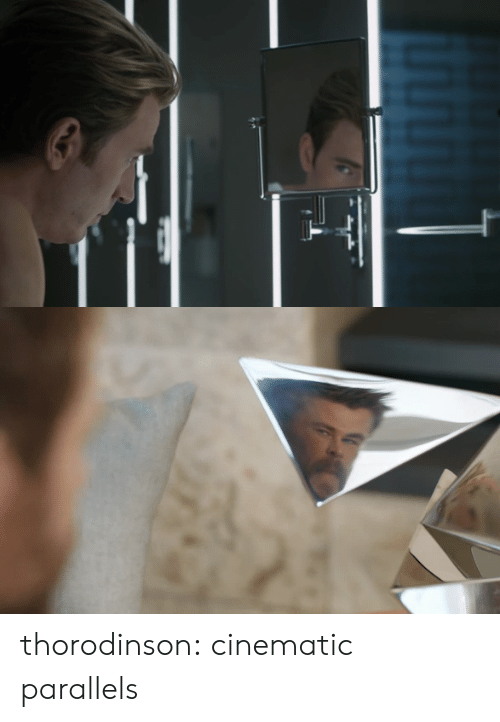 Target, Tumblr, and Blog: thorodinson: cinematic parallels