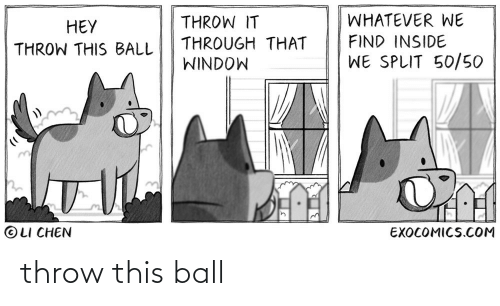 ball: throw this ball