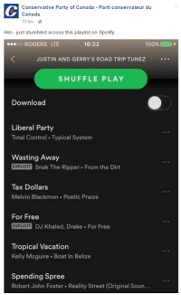 Spotify Playlist Meme