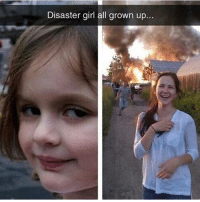 disaster girl