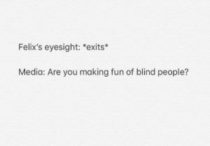 Blind People