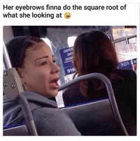 the square root of