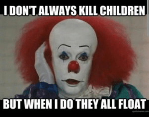 Creepy Clown Meme