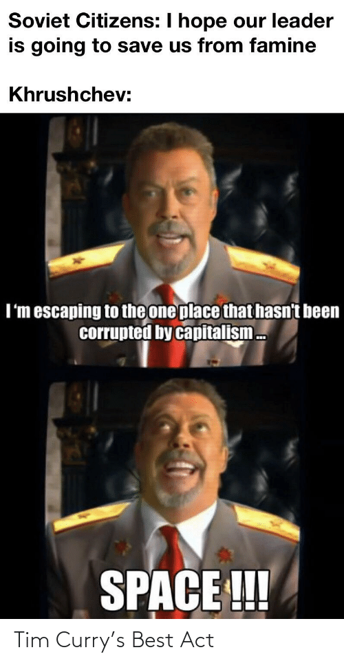 tim curry: Tim Curry's Best Act
