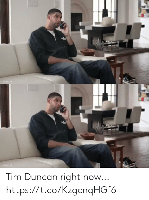 tim: Tim Duncan right now... https://t.co/KzgcnqHGf6